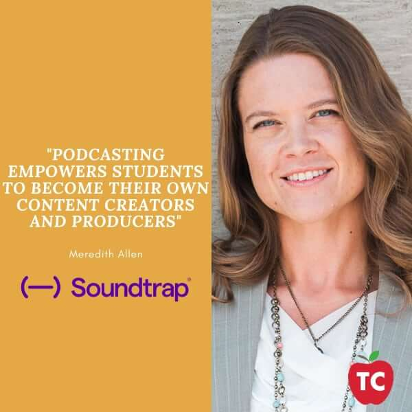 Meredith Allen Podcasting Quote