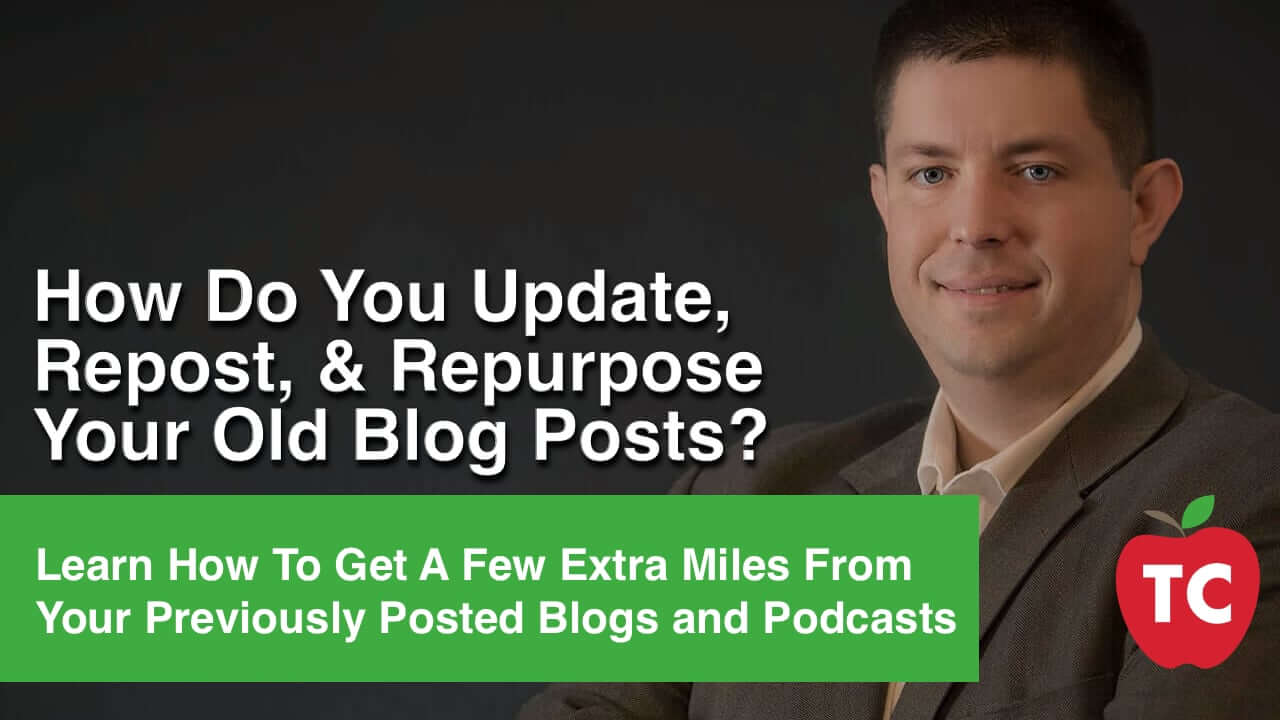 How to Republish Old Blog Posts