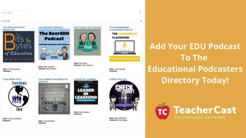 EDU Podcast Directory