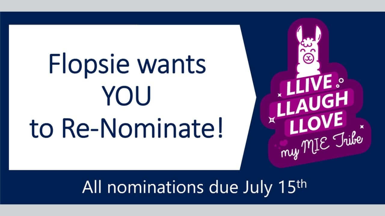 MIE Self Nominations