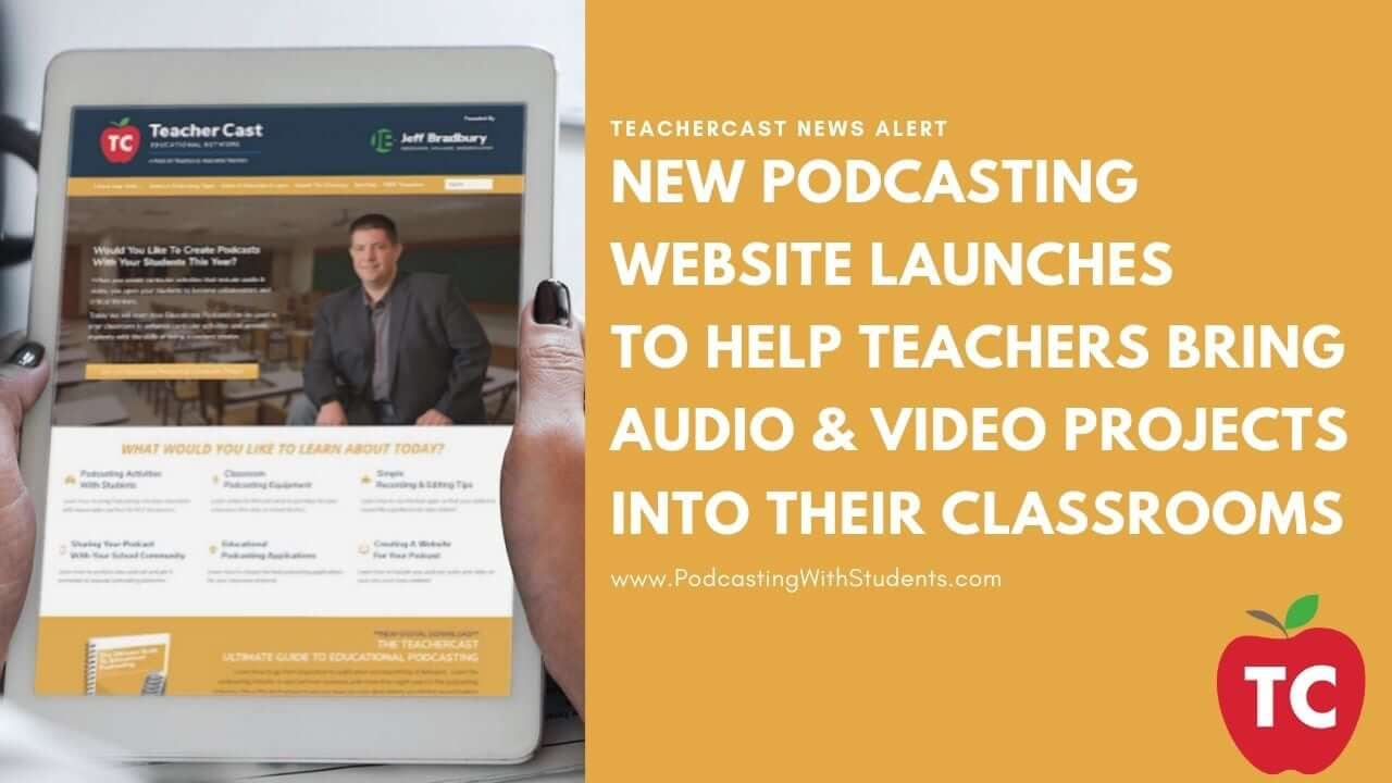 Podcasting With Students Launch Announcement
