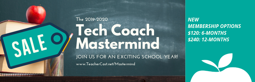 Tech Coach Mastermind Sale Graphic 2019