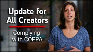 YouTube Creators COPPA Update Video