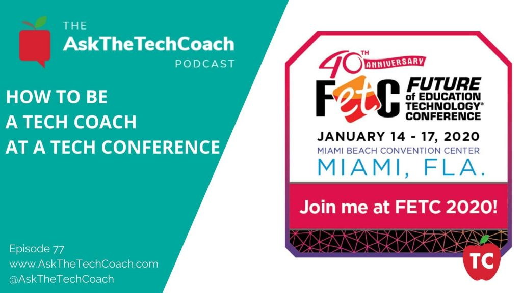 How To Be A Tech Coach At A Tech Conference