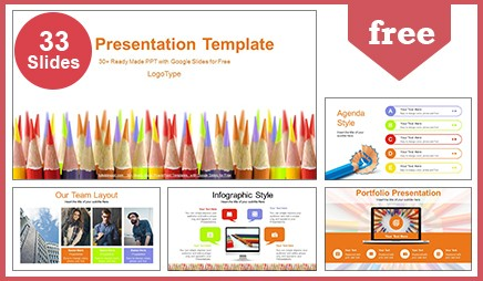 Colored Pencils Slide Deck