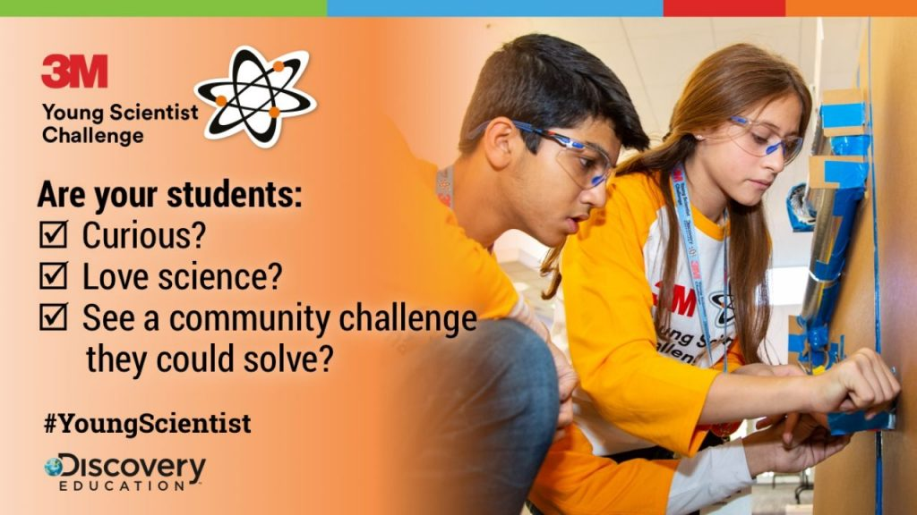 3M Young Scientist Challenge 2020