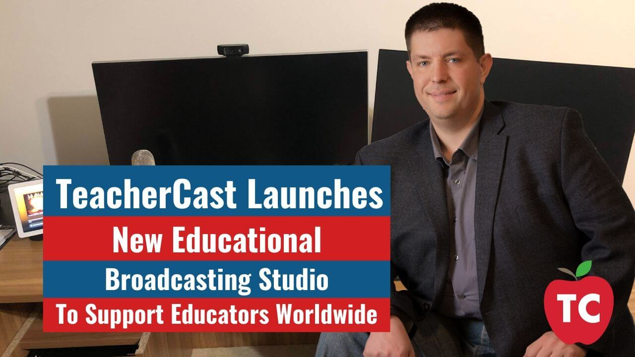 New TeacherCast Studio Blog Post Bumper