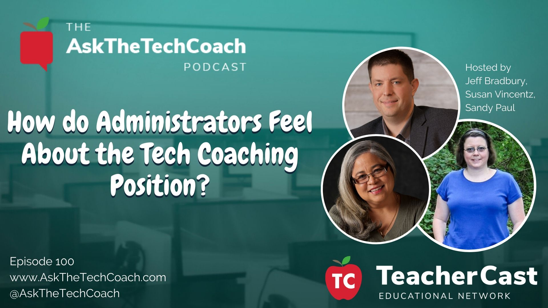 What does an administrator think of a tech coach?