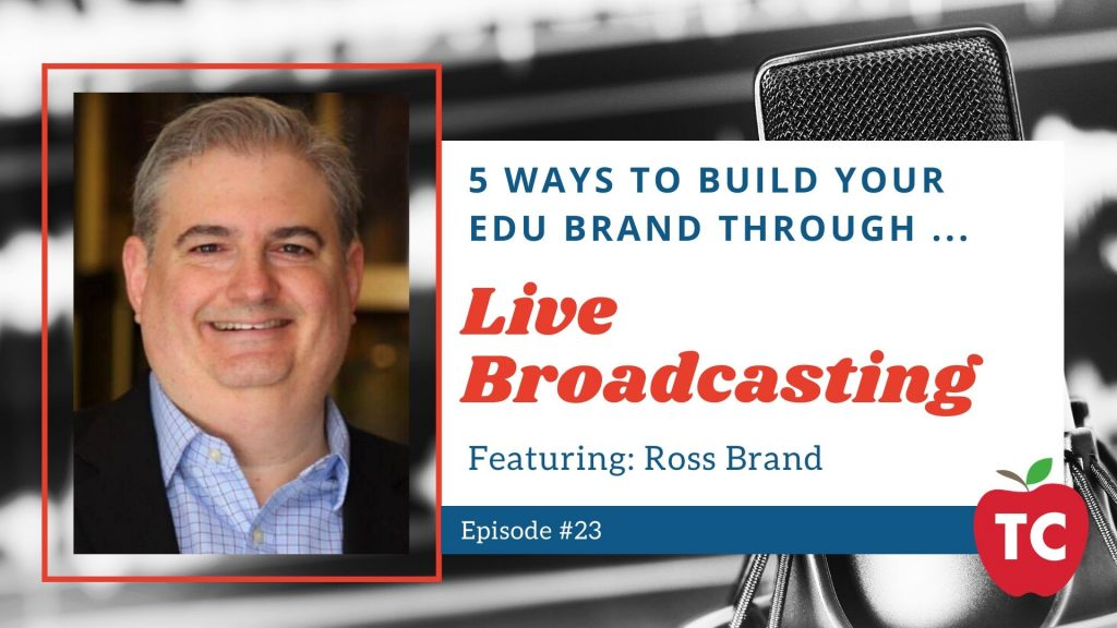 Live Streaming with Ross Brand