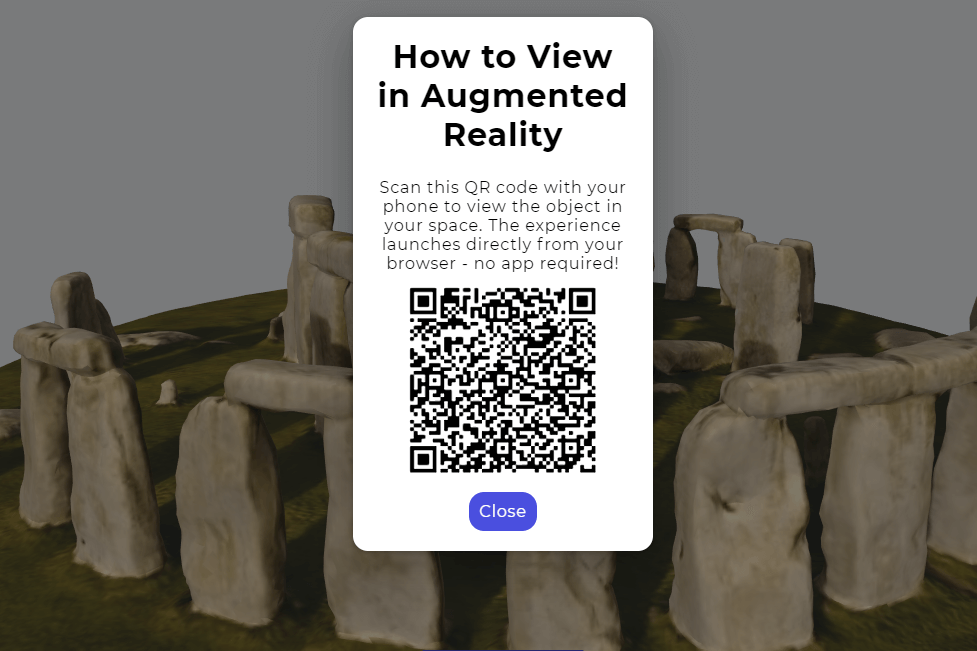 How to View Stonehendge in Augmented Reality
