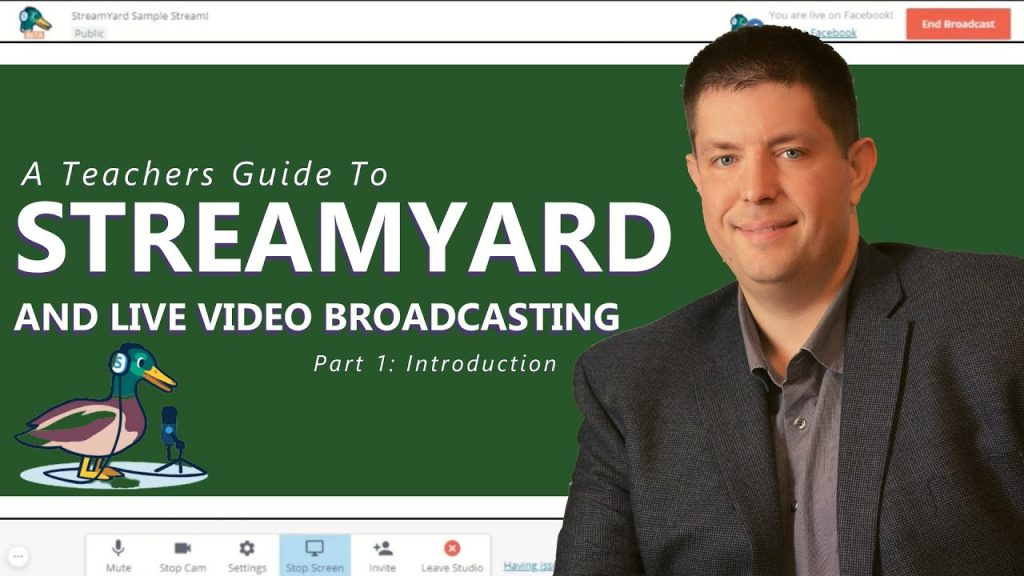 StreamYard: A Complete Tutorial for Teachers