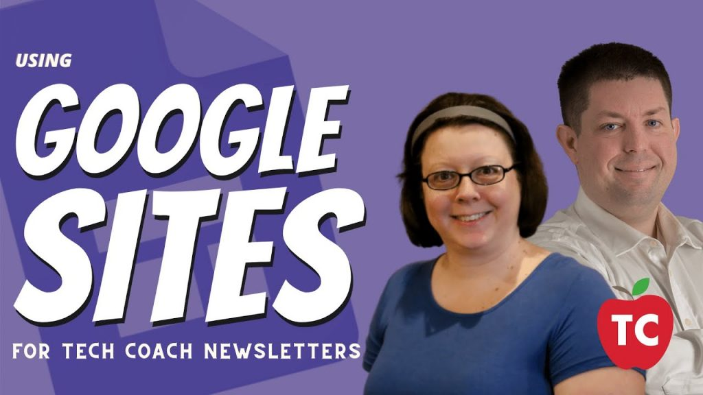 Creating Newsletters using Google Sites